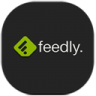 96x96px size png icon of feedly 2