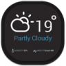 96x96px size png icon of weather eye