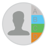 96x96px size png icon of Contacts