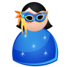 96x96px size png icon of Mask woman