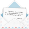 96x96px size png icon of mail open envelope 1