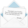96x96px size png icon of mail open envelope 2