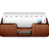 96x96px size png icon of mail shelf