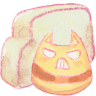96x96px size png icon of Folder cat angry
