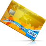 96x96px size png icon of Credit Card