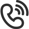 96x96px size png icon of call ringing