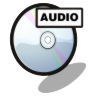 96x96px size png icon of cd audio