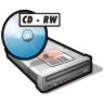 96x96px size png icon of cdrw drive