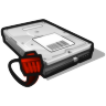 96x96px size png icon of network disk offline