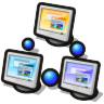 96x96px size png icon of workgroup