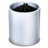 96x96px size png icon of Dock Trash Full
