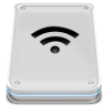 96x96px size png icon of Hard Disk Wifi