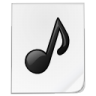 96x96px size png icon of mimetypes sound 1