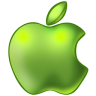 96x96px size png icon of Apple Green