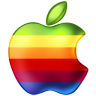 96x96px size png icon of Apple Rainbow