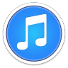96x96px size png icon of iTunes BLUE