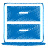 96x96px size png icon of blue archive