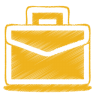 96x96px size png icon of yellow case