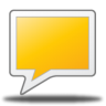 96x96px size png icon of comment rect