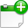 96x96px size png icon of actions appointment new