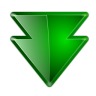 96x96px size png icon of actions arrow down double