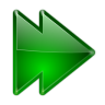 96x96px size png icon of actions arrow right double