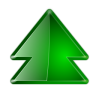 96x96px size png icon of actions arrow up double