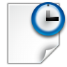 96x96px size png icon of actions document open recent