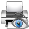 96x96px size png icon of actions document print preview