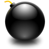 96x96px size png icon of actions edit bomb