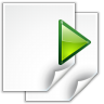 96x96px size png icon of actions go next view page
