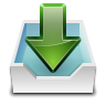 96x96px size png icon of actions mail receive