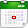96x96px size png icon of actions view calendar day