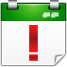 96x96px size png icon of actions view calendar upcoming events