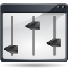 96x96px size png icon of actions view media equalizer