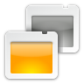96x96px size png icon of actions view presentation