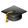 96x96px size png icon of categories applications education university