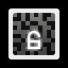 96x96px size png icon of emblems emblem encrypted unlocked