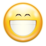 96x96px size png icon of emotes face smile big
