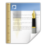 96x96px size png icon of mimetypes application msword template