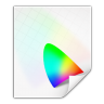96x96px size png icon of mimetypes application vnd iccprofile