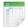 96x96px size png icon of mimetypes application vnd ms excel