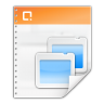 96x96px size png icon of mimetypes application vnd ms powerpoint