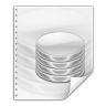 96x96px size png icon of mimetypes application vnd oasis opendocument database