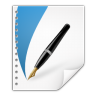 96x96px size png icon of mimetypes application vnd scribus