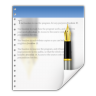 96x96px size png icon of mimetypes application vnd wordperfect