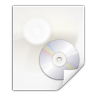 96x96px size png icon of mimetypes application x cd image