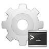 96x96px size png icon of mimetypes application x executable script