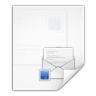 96x96px size png icon of mimetypes message