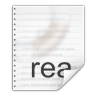 96x96px size png icon of mimetypes text x readme